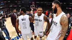 NBA: Raptors 98, Wizards 106