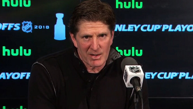 What does Babcock think of the officiating? 'Ask me in the summer'