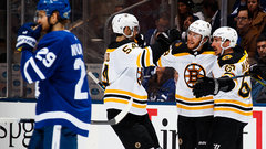 Leafs looking for formula to contain Bruins' top line