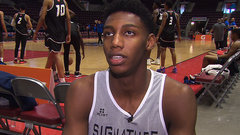 Barrett focused on Duke, NBA dream