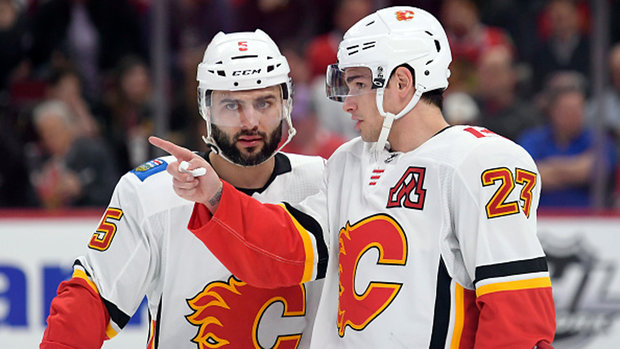 Peters' goal for the Flames is simple: Playoffs