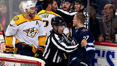 Predators, Jets to extend regular season chippiness into playoffs