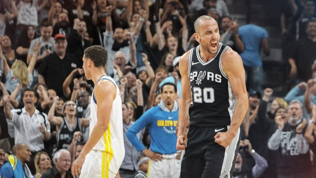 Manu gives his all in potential last game in San Antonio