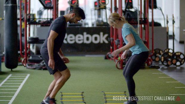 Reebok's Fastest Feet Challenge