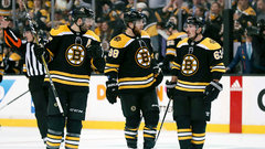 Where has the Bruins' top line gone?