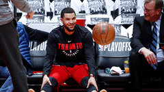 Raptors' VanVleet will not play in Game 5
