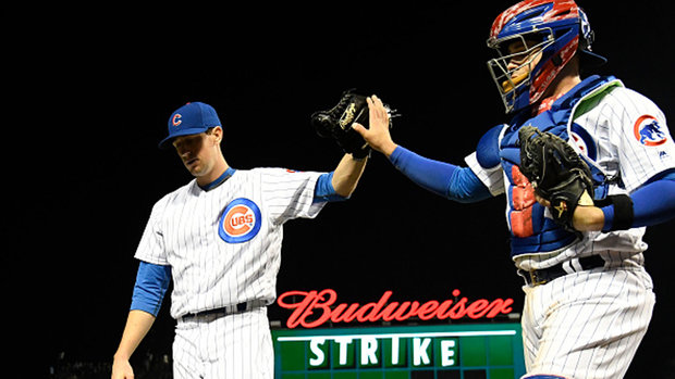 MLB: Brewers 0, Cubs 1