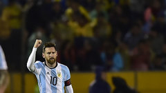 Messi's heroics send Argentina to Russia