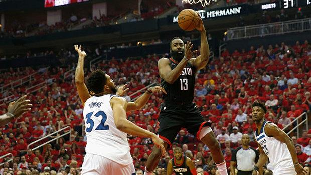 NBA: Timberwolves 104, Rockets 122
