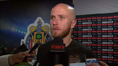 Bradley: We spilled our guts on the field tonight