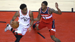 Raps hope to keep hot shooting in Game 6 in Washington