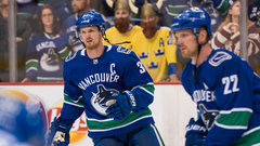 Sedins excited to square off against McDavid in final game