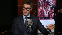 New Leafs GM Kyle Dubas joins the guys on OverDrive in studio