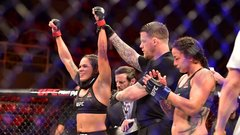 Nunes beats Pennington, who asked to stop bout
