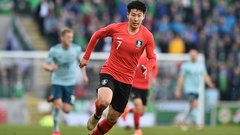 Son Heung-Min carries Korea Republic's hopes on his back
