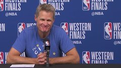 Kerr on Curry's injury: '13.7%' responsible for his play