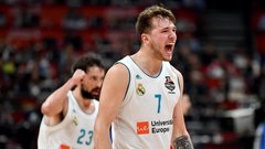Doncic puts on a show in EuroLeague semis