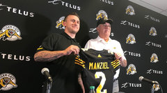 Tiger-Cats introduce Johnny Manziel