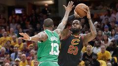 NBA: Celtics 86, Cavaliers 116