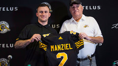 Tiger-Cats sign Manziel to a two-year deal