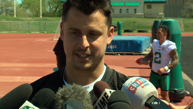Collaros on Manziel joining Ticats: 'I could care less'
