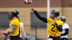 Manziel takes part in first Tiger-Cats practice