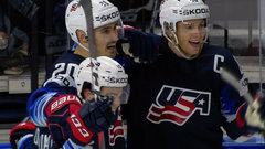 Kreider opens the scoring for the United States