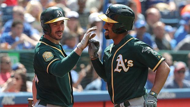 MLB: Athletics 9, Blue Jays 2