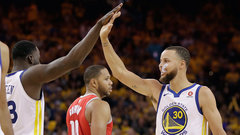 NBA: Rockets 85, Warriors 126