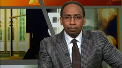 Stephen A.: 'Paul was awful in the 1st half'
