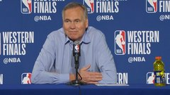 D'Antoni says Rockets played 'soft' in Game 3 loss