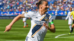 Zlatan's temper flares again as he gets first MLS red card