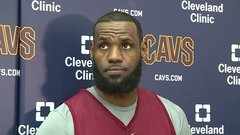 LeBron appreciative of efforts for statue