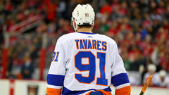 Lamoriello gets right to work with Isles, meets with Tavares