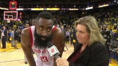 Harden credits Rockets' intensity for victory