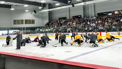 Golden Knights hit ice for first time since eliminating Jets