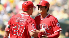 Trout on Ohtani: 'It's tough to do one thing, let alone two'