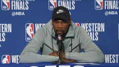 Durant on last possession: 'Definitely wish I had that last play back'