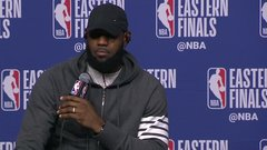 LeBron displays photographic memory ... again