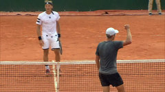 Must See: Polansky rushes net, hits incredible shot in French Open qualifying