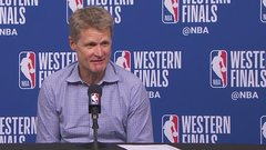 Kerr 'feels great' after loss in Game 5