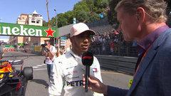 Hamilton on qualifying performance: 'I gave it everything I could'