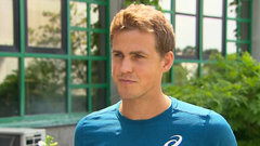 Training with new coaches in Kenya helped Pospisil improve fitness