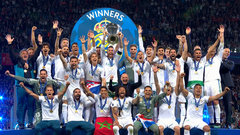 Must See: Real Madrid hoists Champions League trophy