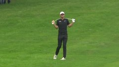 Must See: Frustrated golfer Pieters snaps club over neck