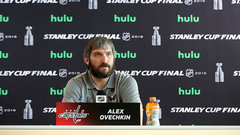 Ovechkin jokes about phone call from Putin