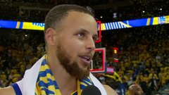 Steph says Warriors 'woke up' in second half