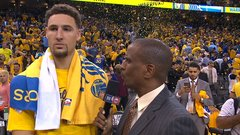 Thompson says Warriors worked too hard to go home
