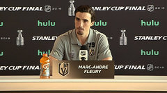 Fleury learned a lot from how Crosby handled himself on and off the ice