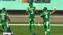 CFL Must See: Marshall's pick-six extends the Riders' lead